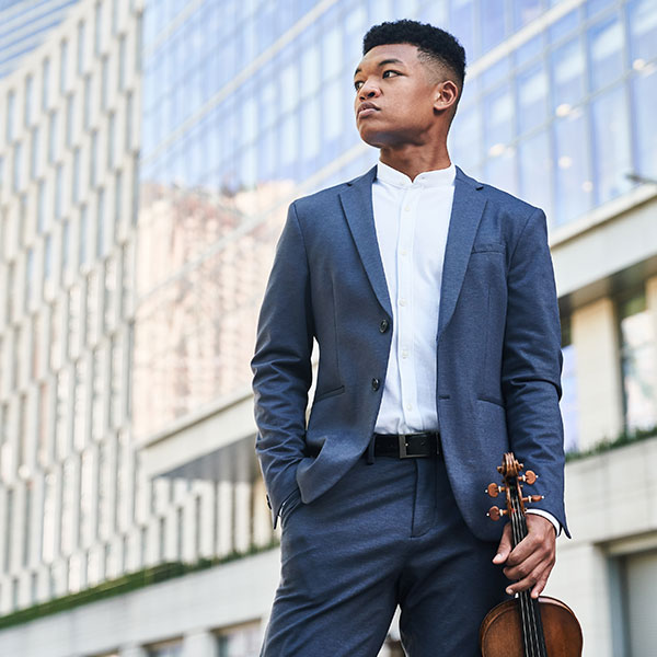 Elgin Symphony Orchestra - Randall Goosby, violin - Beethoven's Eroica